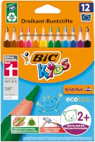 Buntstift BIC® Kids ECOlutions EVOLUTION Triangle, 12 ST